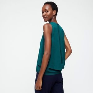 J. Crew Tops - J. Crew NWT Women's Drapey Top in Recycled Poly